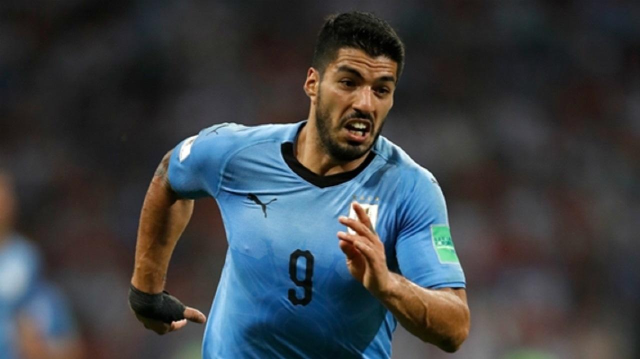 Uruguay striker Luis Suarez.
