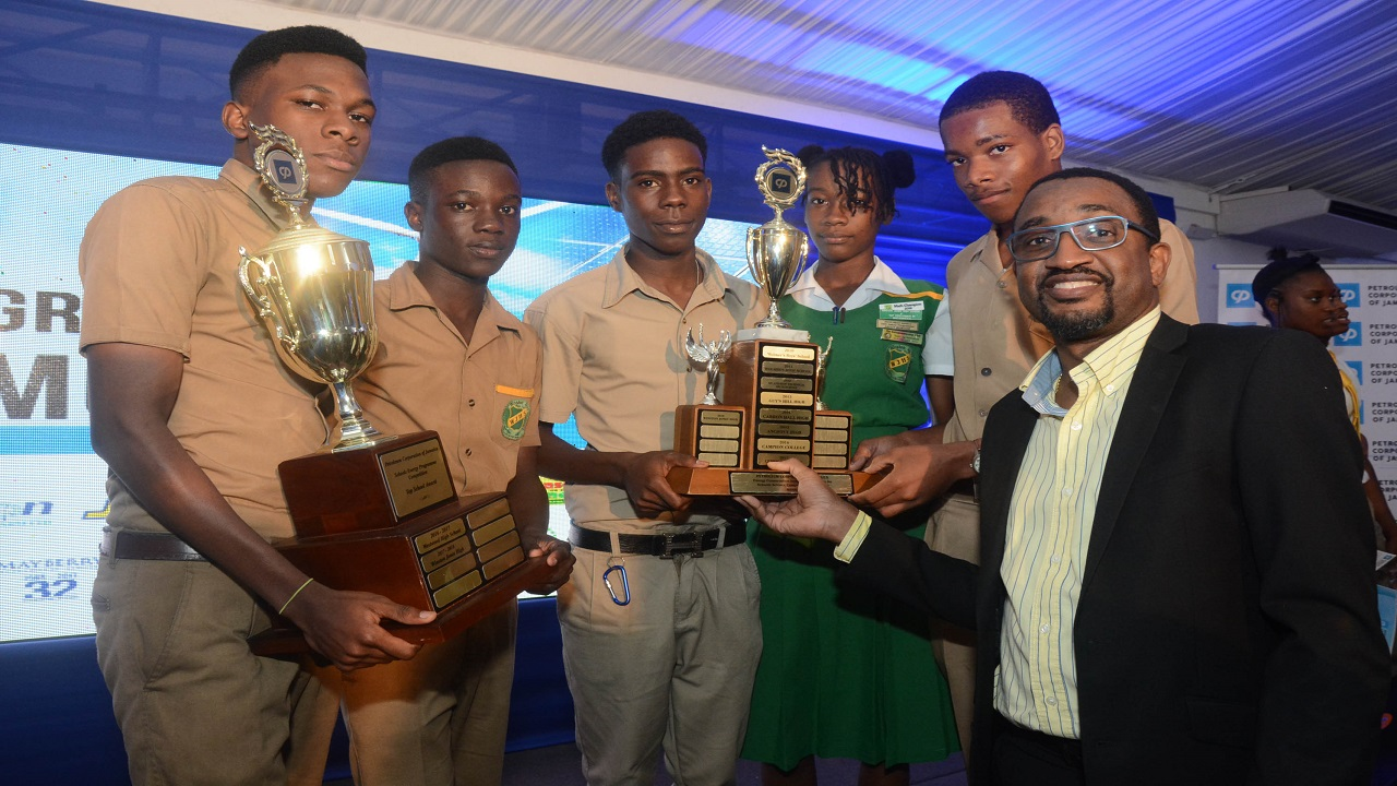Winston Jones High School dominated the competitions, copping prizes in each of the four contest areas to take the coveted Top School title.