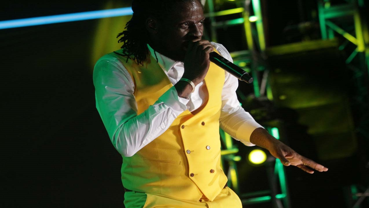 Aidonia performing at last year's Sumfest.