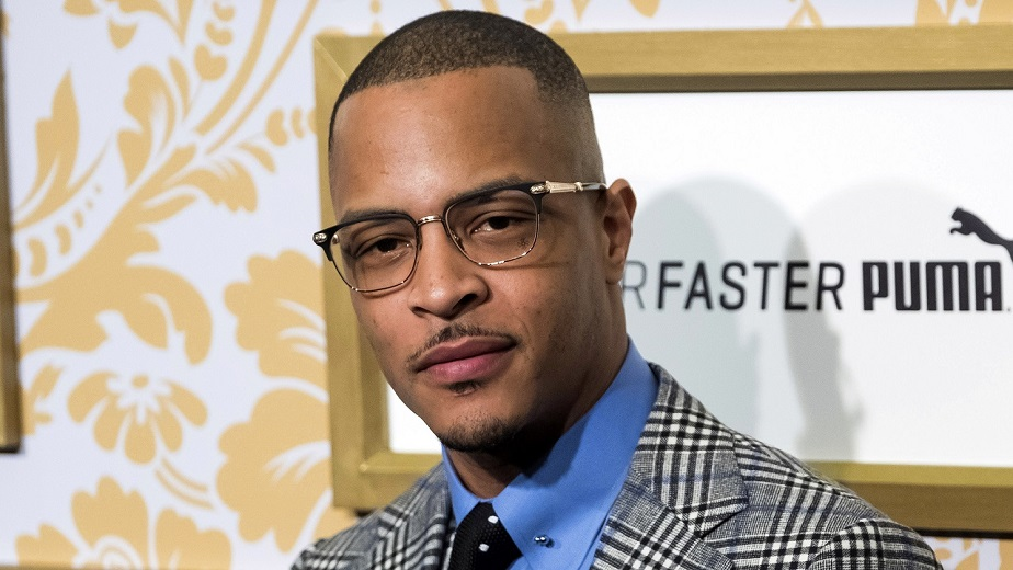 Rapper, actor TI.