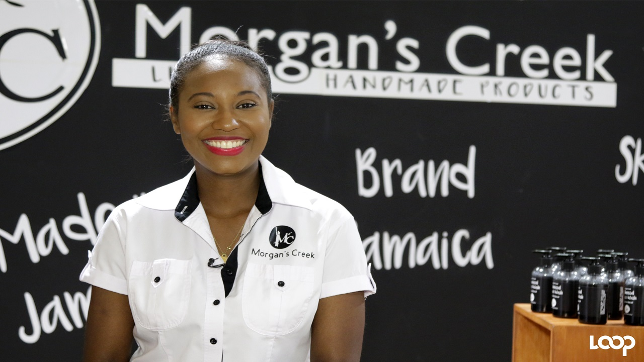 Managing Director of Morgan's Creek, Joni-Dale Morgan leads a team of two women, manufacturing natural soaps, body butter, body splash, body cream, and scrubs, to name a few.