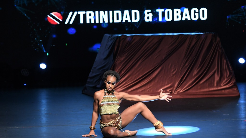 Thema Williams onstage at NAPA during the 2018 World of Dance Trinbago Qualifying Event. Photos by  Dougla Matrix Entertainment