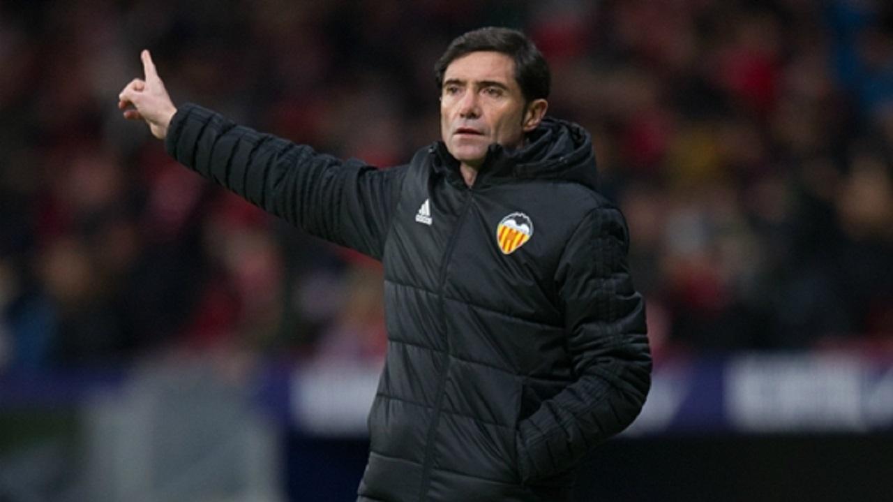 Valencia head coach Marcelino.