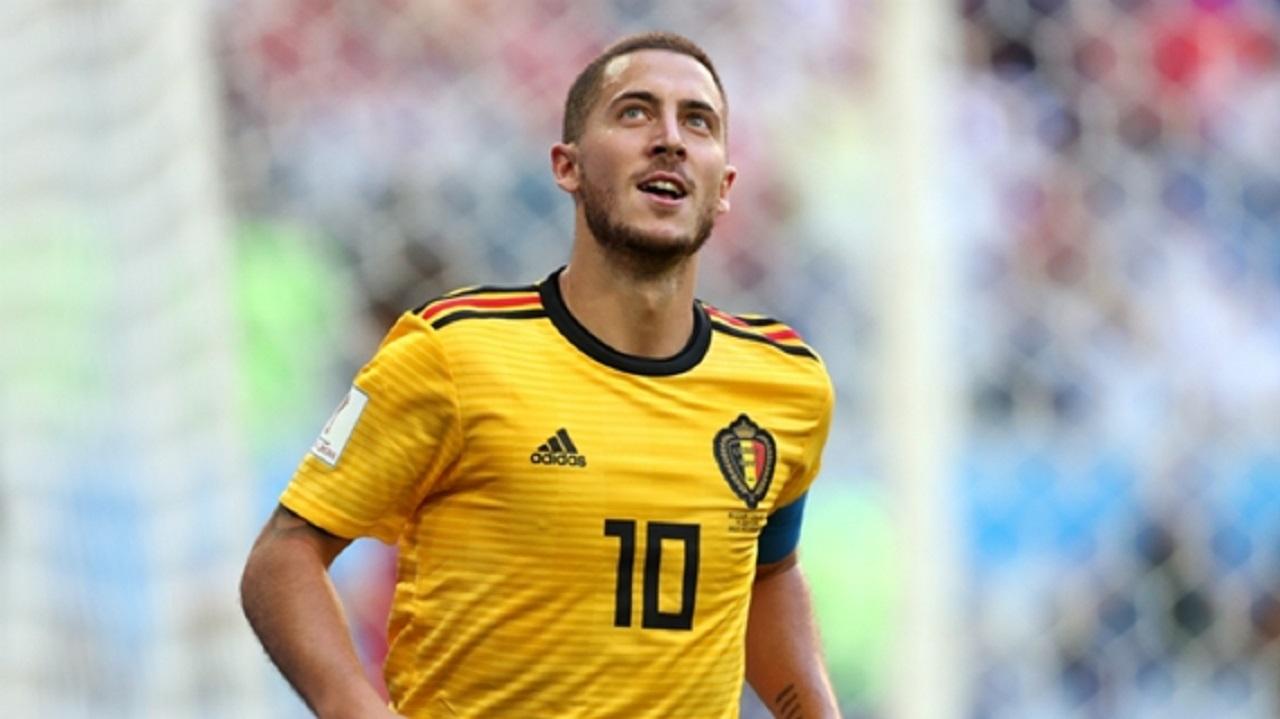 Belgium star Eden Hazard.