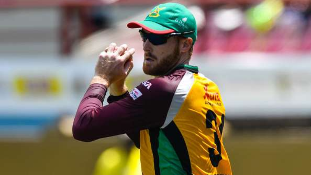 Martin Guptill previously played for the Guyana Amazon Warriors