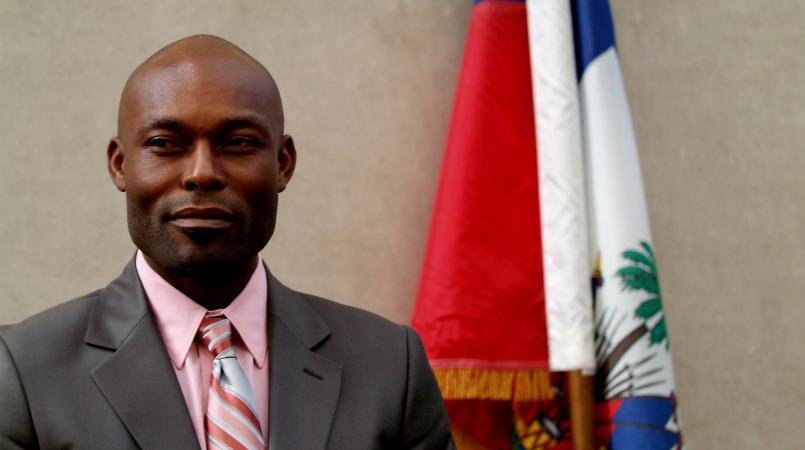 L'acteur Haïtien, Jimmy Jean Louis