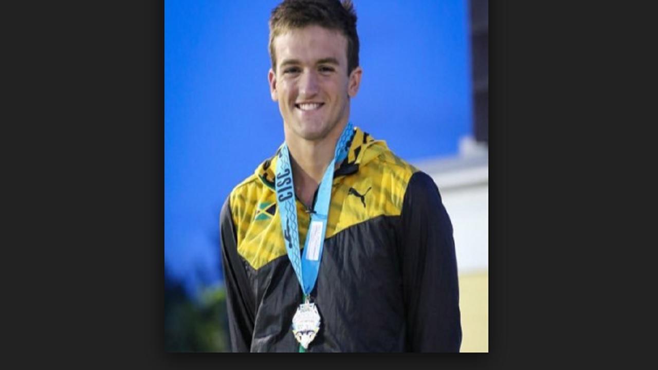 Swimmer Keanan Dols