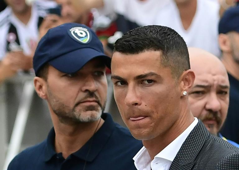 Cristiano Ronaldo à son arrivée au centre médical de la Juventus, le 16 juillet 2018 à Turin