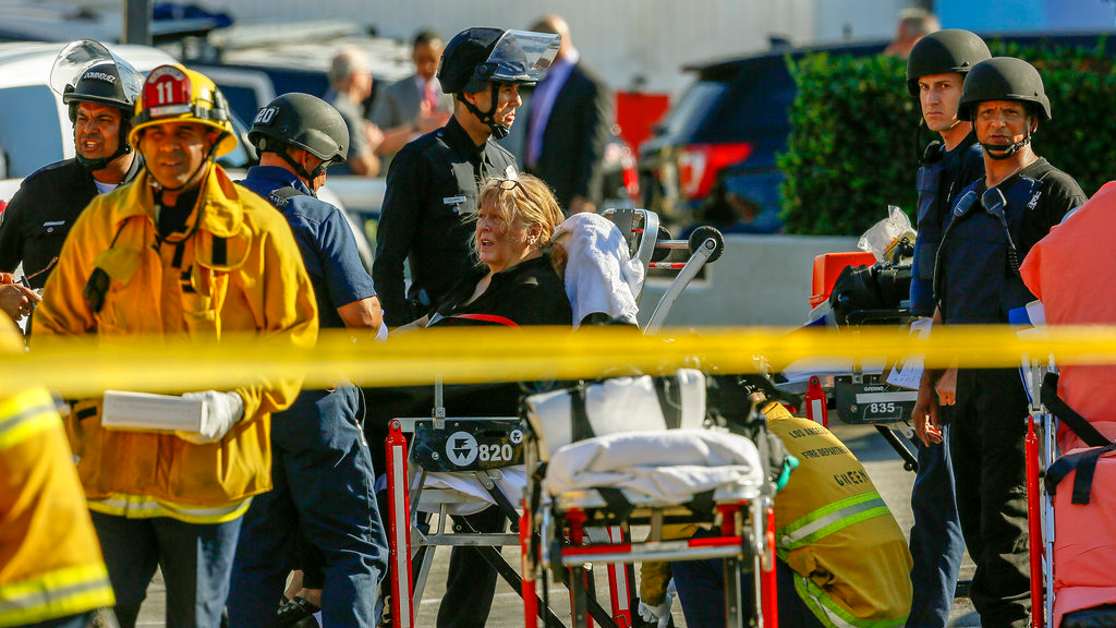 Women killed, gunmen in custody after standoff at LA Trader Joe's