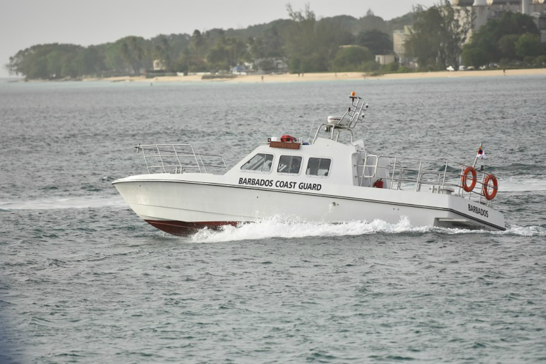 Endurance – a patrol craft – which was donated by the People's Republic of China. (C. Pitt / BGIS)