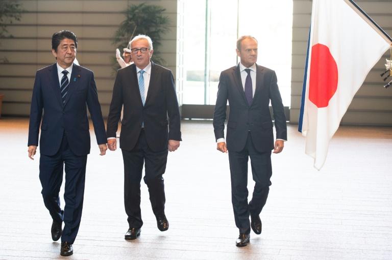 Le libre-échange envers et contre Trump — UE-Japon