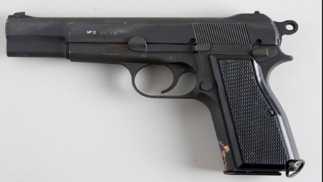 File photo of a firearm seized by police during a recent operation.