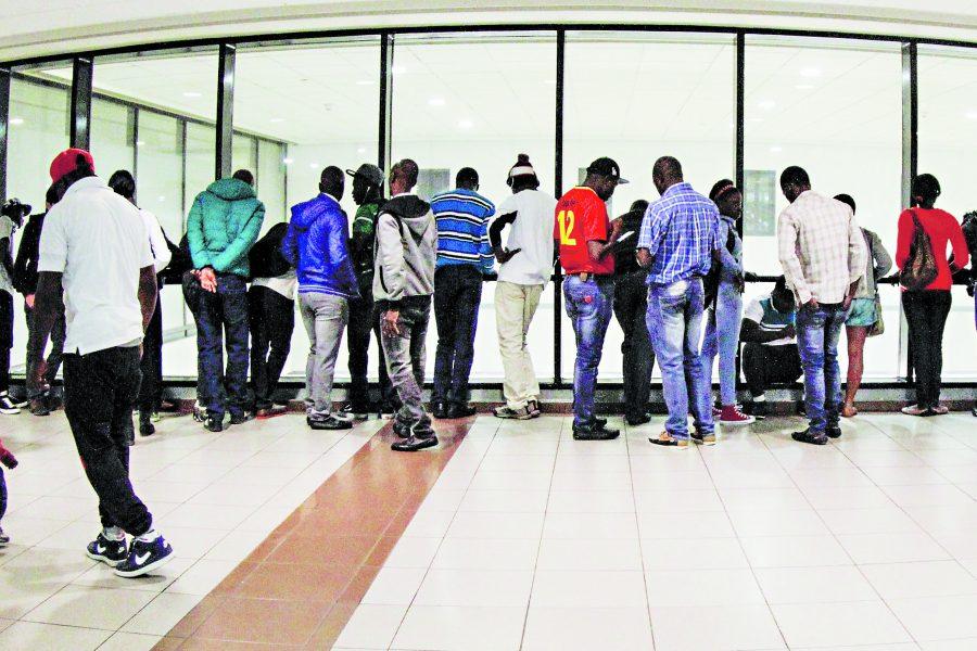 Les Haïtiens font exploser les chiffres des transferts au Chili. Photo : La Tercera