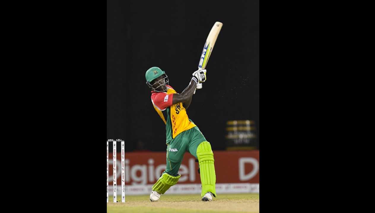 The Amazon Warriors won easily despite opener Chadwick Walton being bowled for a duck.