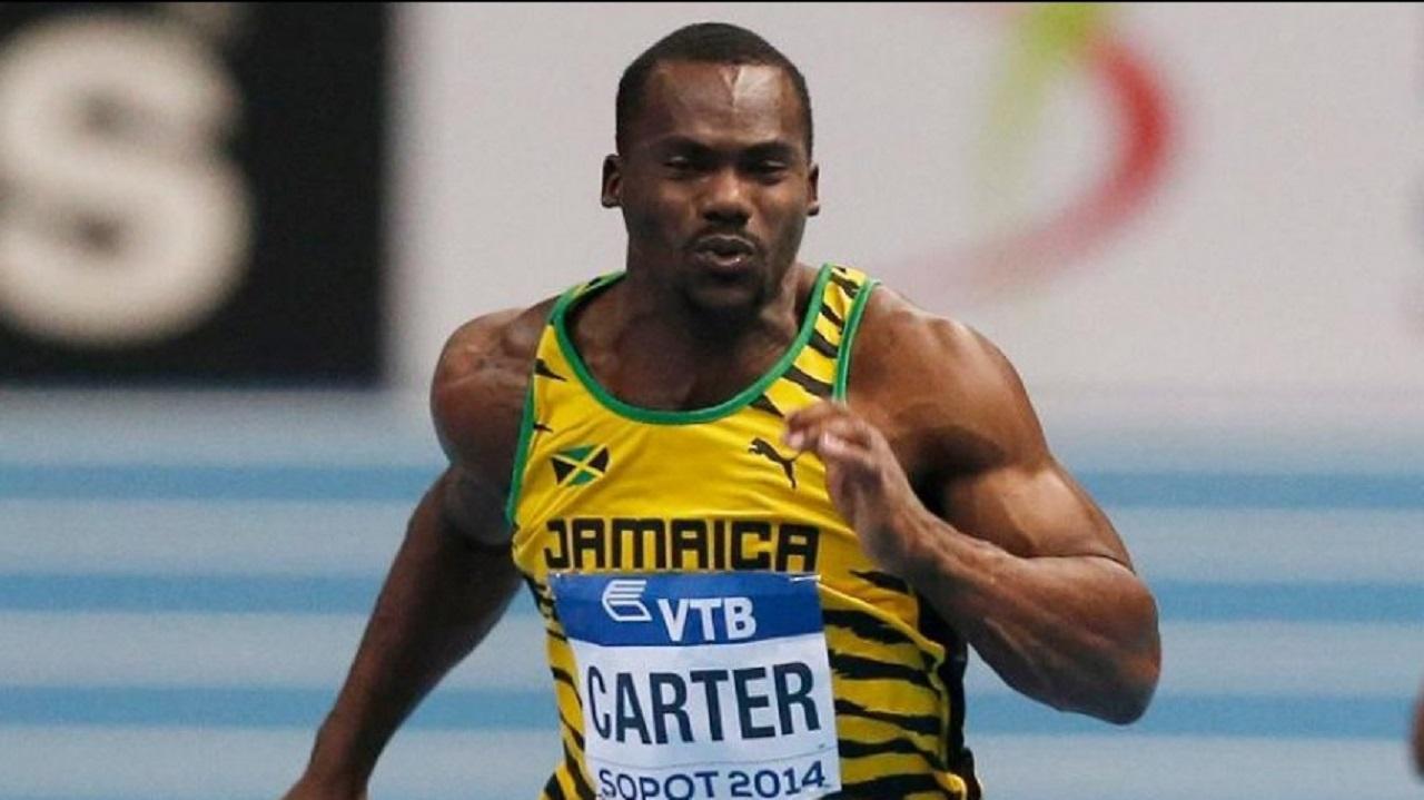 Jamaica's sprinter Nesta Carter.