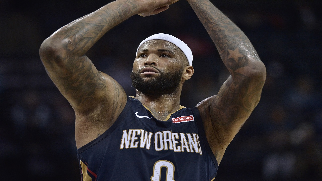 DeMarcus Cousins (PHOTO: AP)