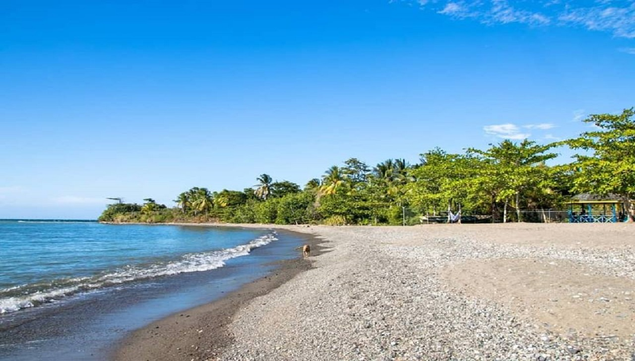Marking Stone Beach has been upgraded by the Tourism Enhancement Fund (TEF) at a cost of $38.3 million.  Photo via Ministry of Tourism's Facebook page.