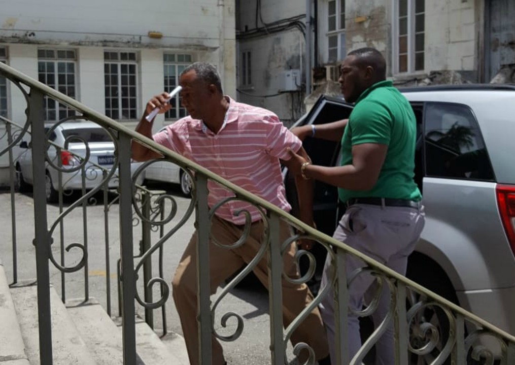 Prescod as he made his first appearance in court on Friday.