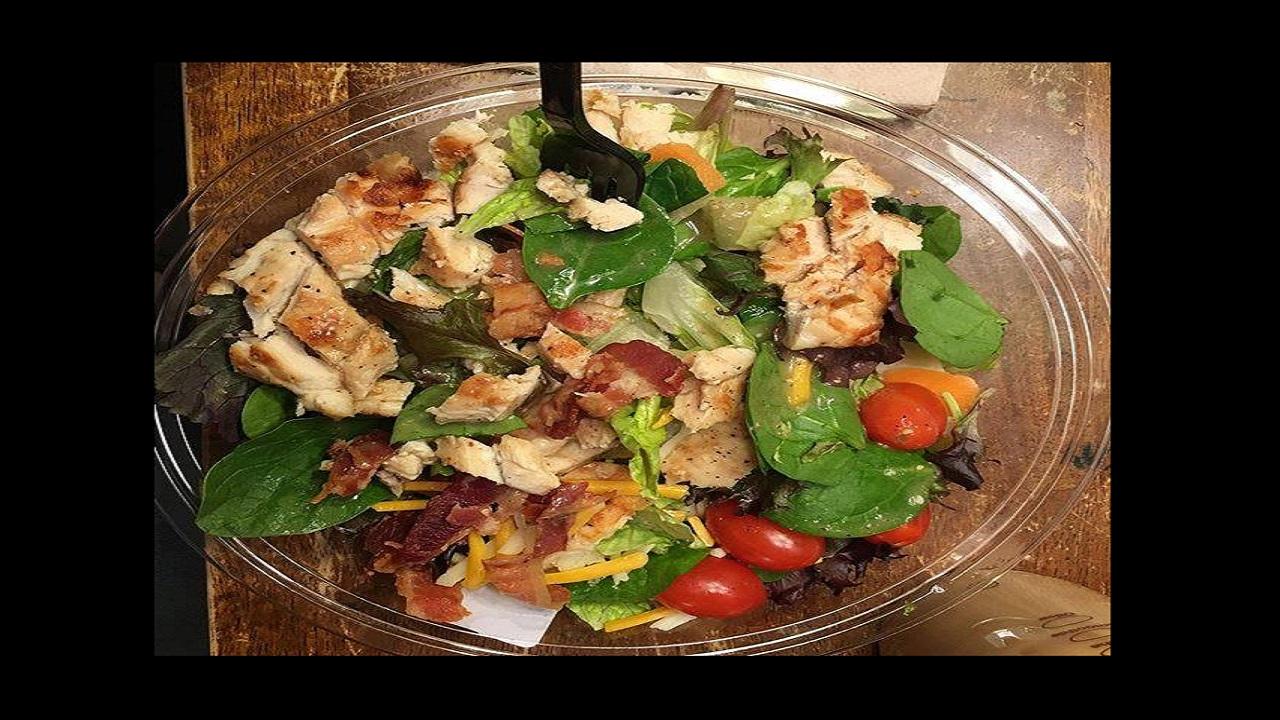 Photo of a salad via McDonald's Facebook.