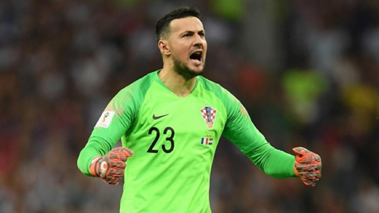 Danijel Subasic during the World Cup.