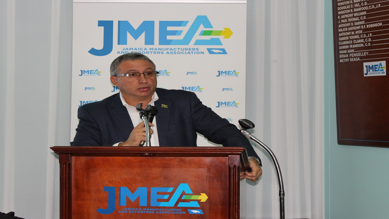 Jamaica Manufacturers and Exporters Association President Metry Seaga.