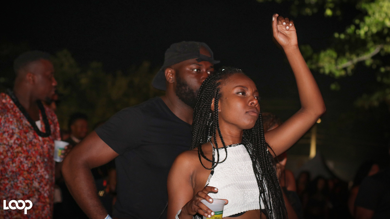 Patrons enjoying the World Vibes party at Dream Weekend last week. (PHOTO: Shawn Barnes)