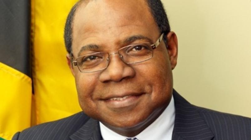Minister of Tourism Edmund Bartlett