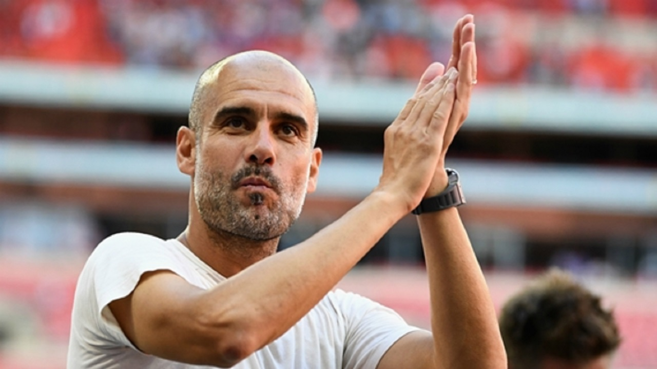 Manchester City boss Pep Guardiola.