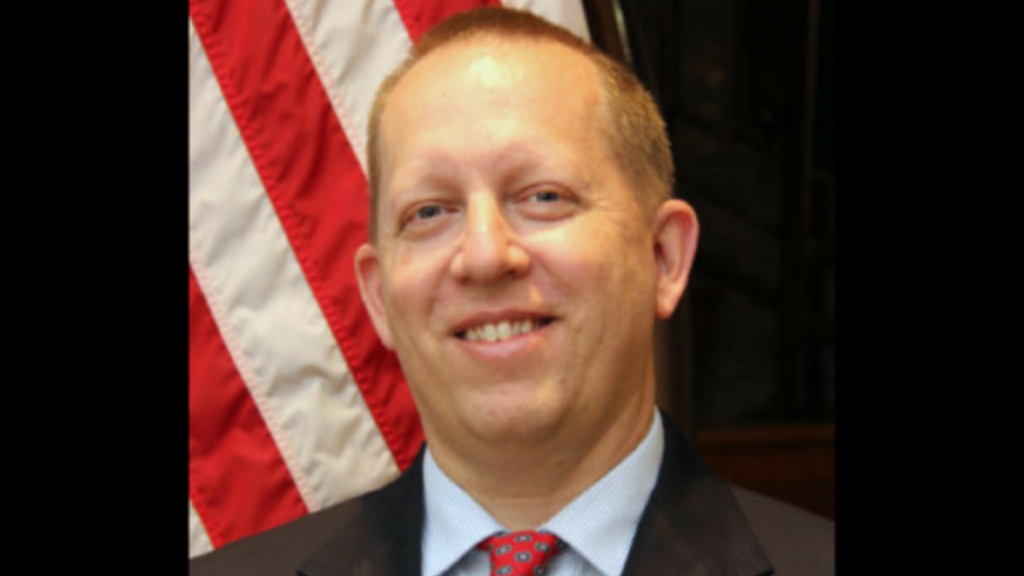 Chargé d'Affaires John McIntyre. Photo via US Embassy