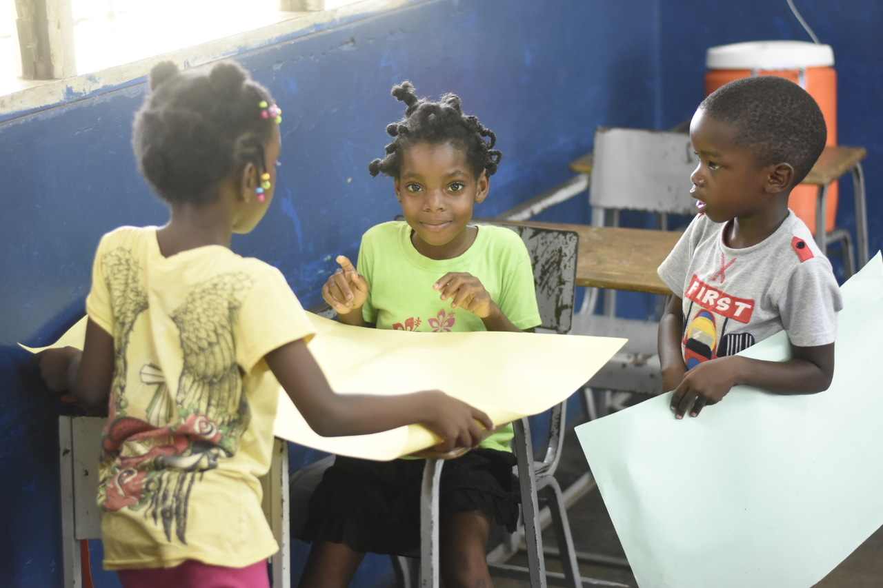 Downtown Kingston kids enjoy art and yoga at Holy Trinity summer camp