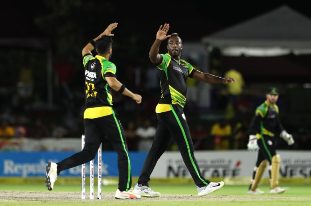 Andre Russell and the Jamaica Tallawahs had a difficult time in Florida (Photo courtesy CPL via Getty Images)