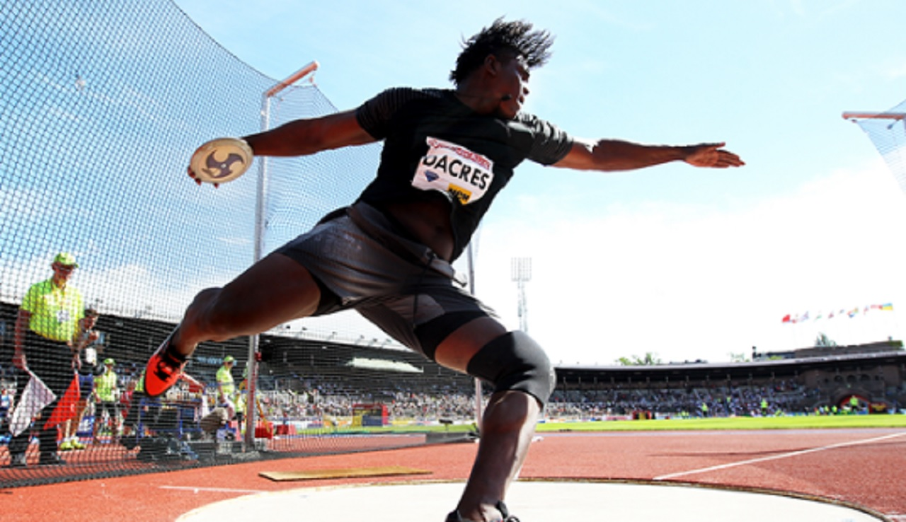 Fedrick Dacres, Jamaica's best ever discus thrower.