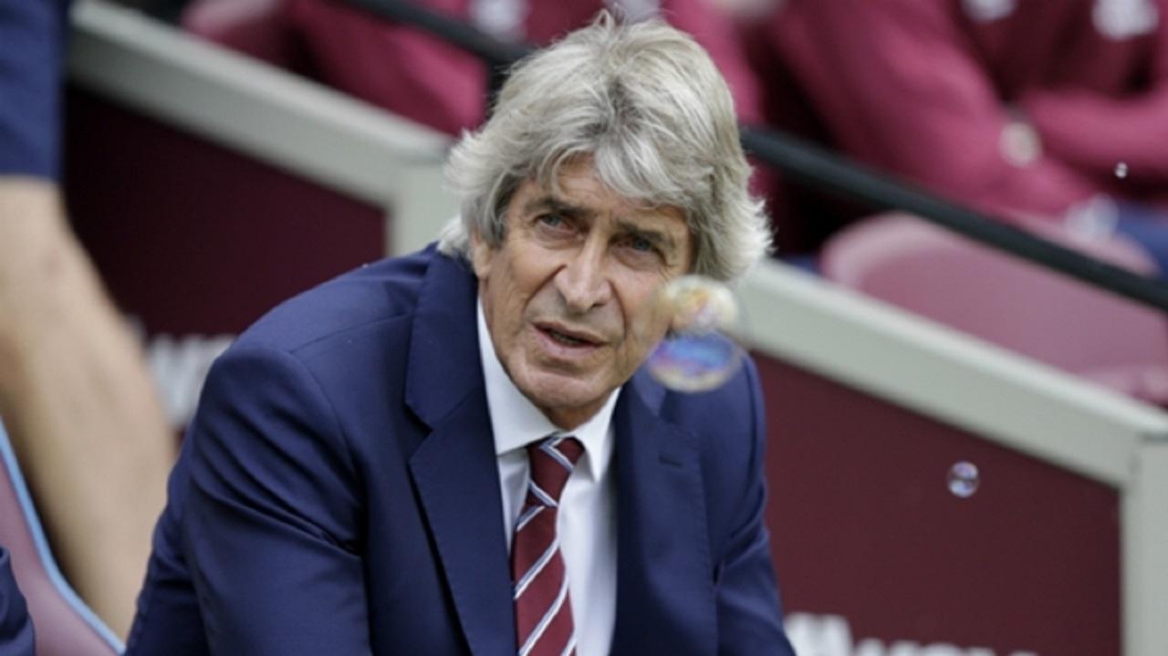 West Ham boss Manuel Pellegrini.