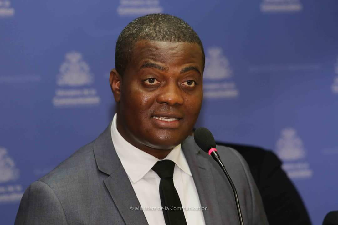 Jude Edouard Pierre, le maire de Carrefour./Photo:MinistèreCommunication