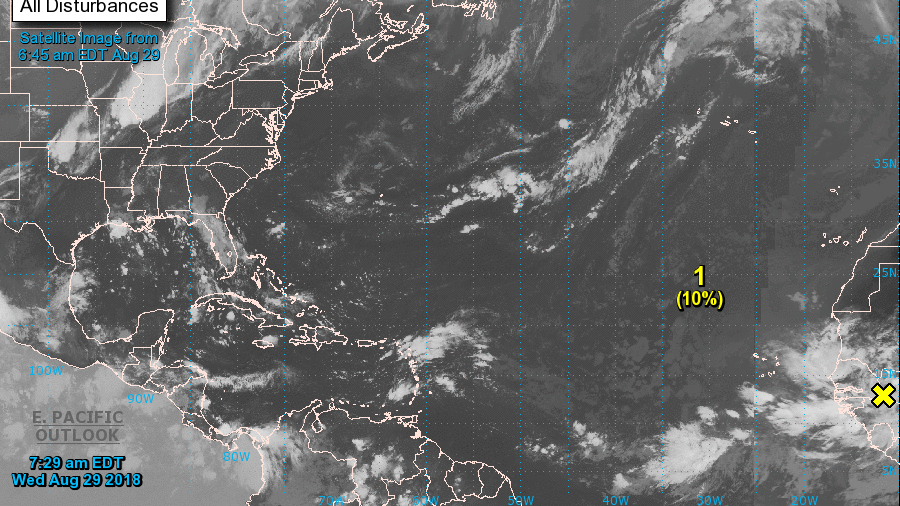 Third hurricane of season in Atlantic predicted by Sunday