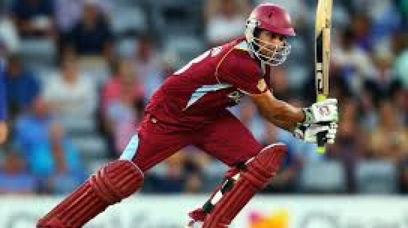 Sarwan is the assistant coach of the Jamaica Tallawahs