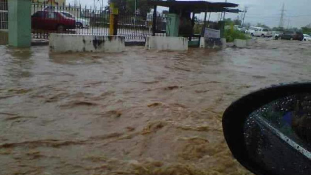Flooding in Barataria.