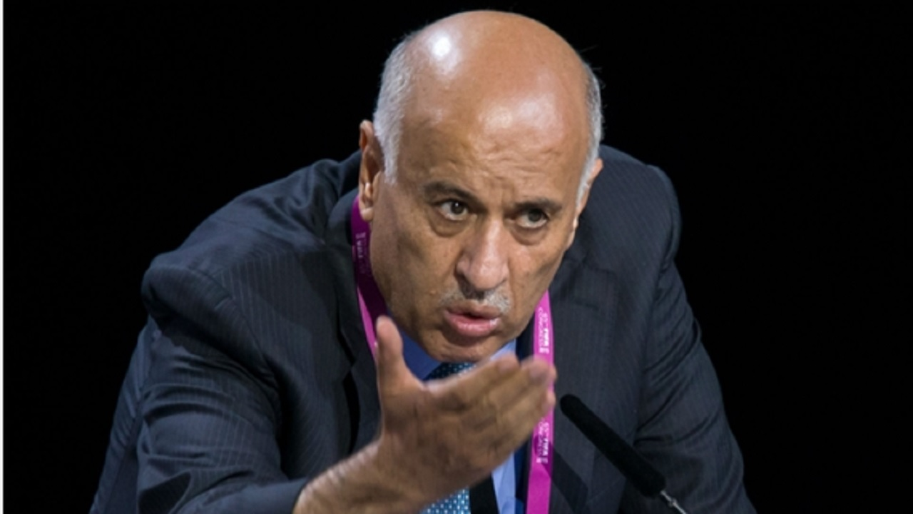 Palestinian Football Association president Jibril Rajoub.