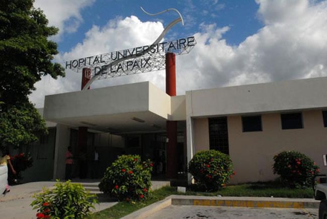 Photo : Hôpital Universitaire de la Paix : Crédit Photo : Juno-7