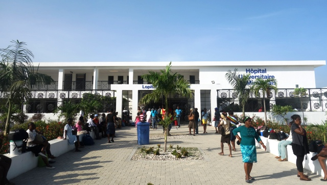 La grève est levée à l'Hôpital Universitaire de Mirebalais.Photo: Osman Jérôme