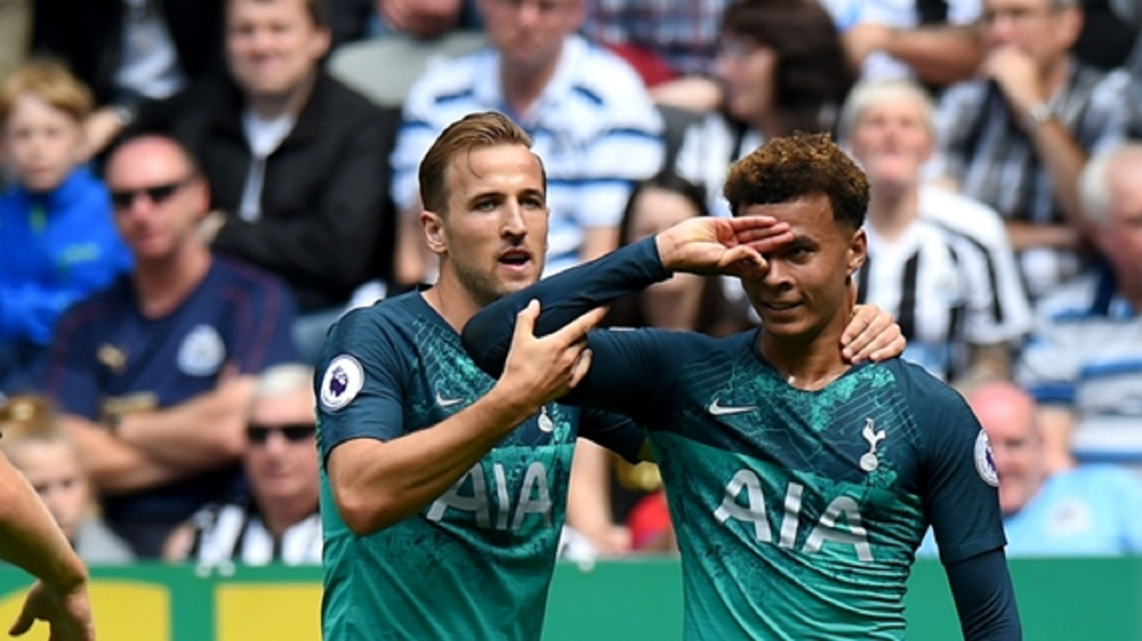 Harry Kane and Dele Alli.
