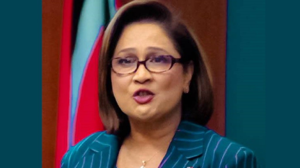 Photo: Kamla Persad-Bissessar