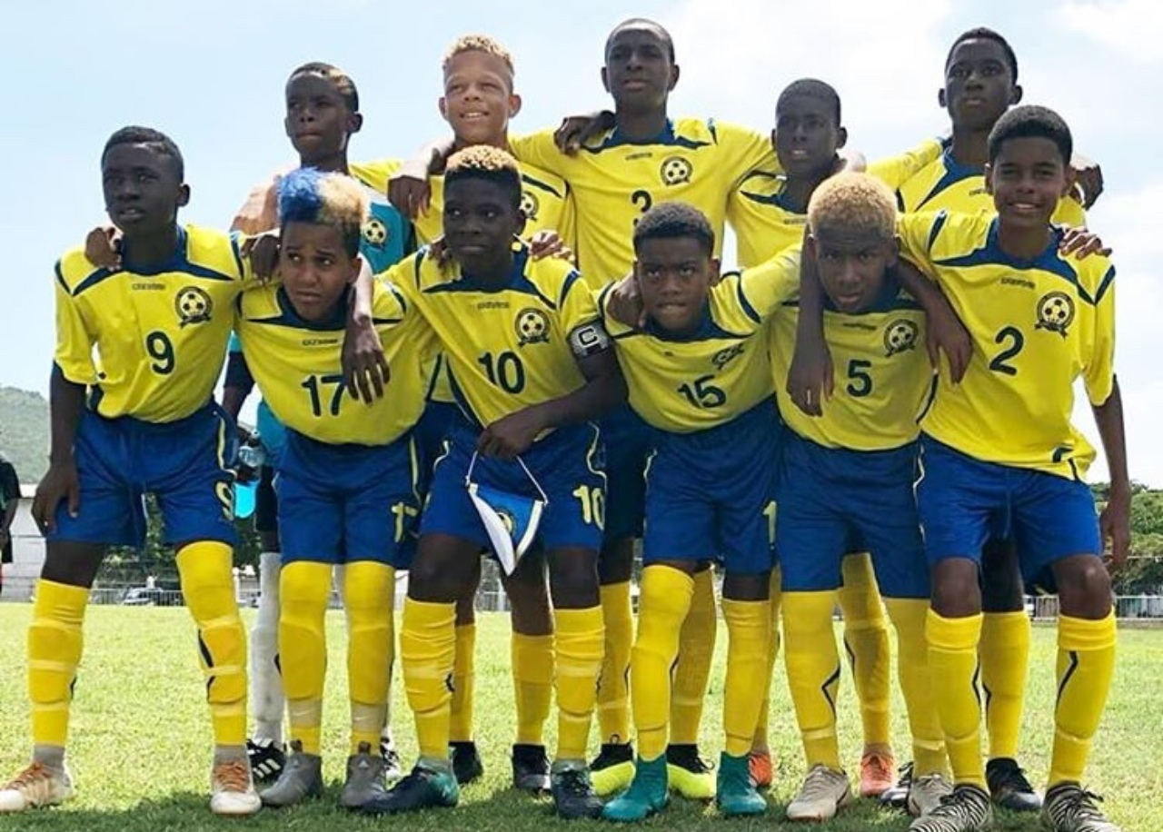 Barbados U14 Boys football team