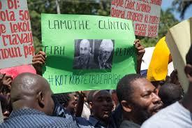 Des Haïtiens écrivent à des élus américains sur l'affaire Petrocaribe. Loop Haiti