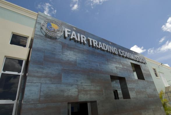 Fair Trading Commission headquarters. (PHOTO: BGIS)
