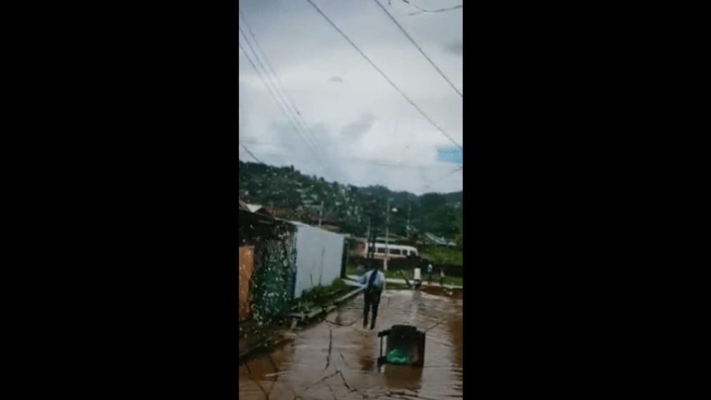 Laventille West MP Fitzgerald Hinds. Photo taken from video.
