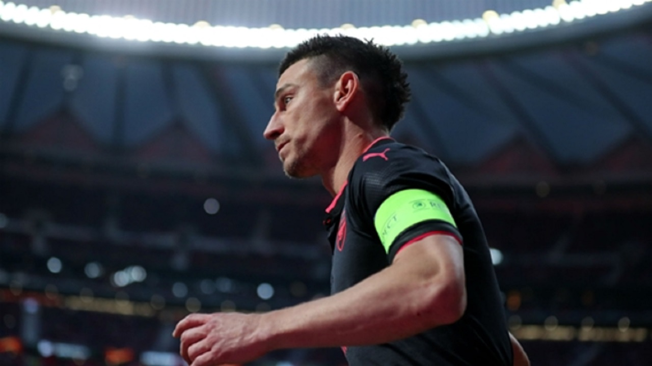 Arsenal captain Laurent Koscielny.