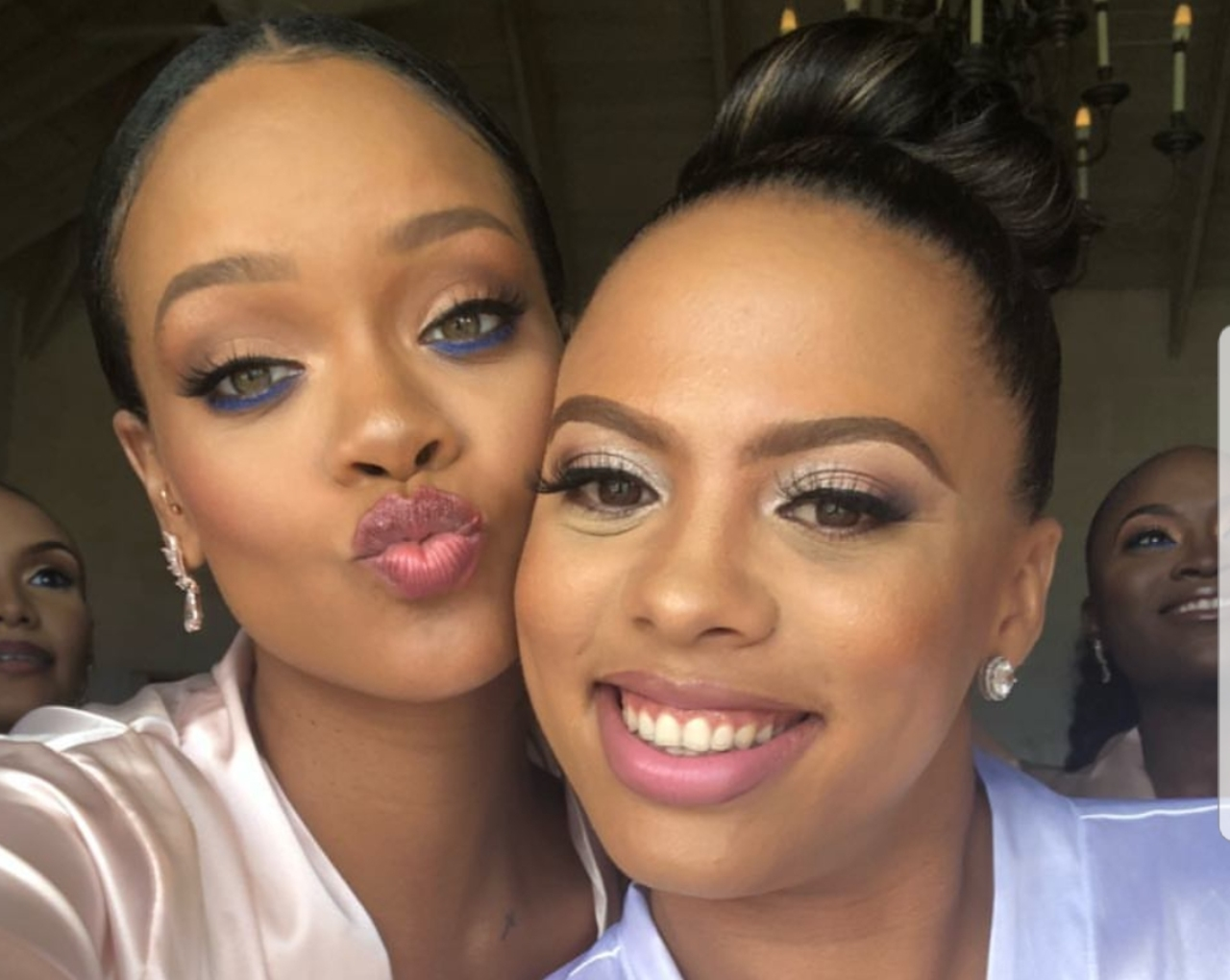 Robyn 'Rihanna' Fenty and Sonita Alexander.