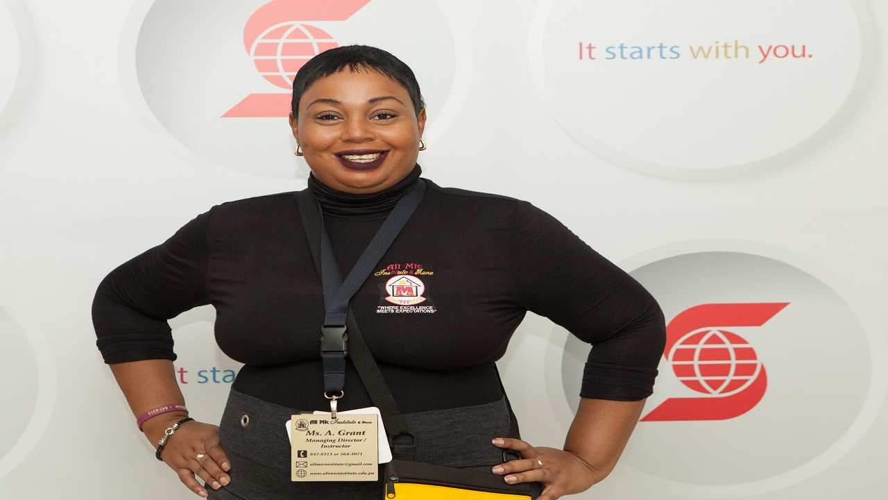 Primary-school teacher turned entrepreneur Alicia Grant.
