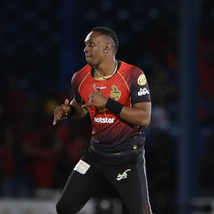 Dwayne Bravo led Trinbago Knight Riders to victory over St Lucia Stars in the opening match of the 2018 Hero CPL